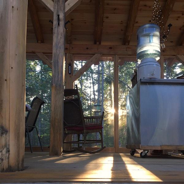 2020 porch view